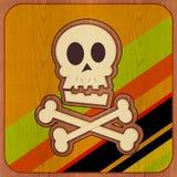 Crâne et os croisés Images stock