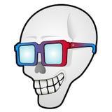 Cráneo divertido Imágenes de archivo libres de regalías