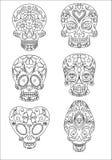 Cráneos del azúcar Fotografía de archivo libre de regalías