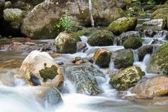 Crni Drim River Royalty Free Stock Images