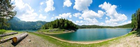 Crno Jezero,黑山 免版税库存图片