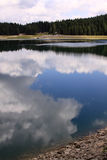 Crno Jezero (μαύρη λίμνη), εθνικό πάρκο Durmitor, Μαυροβούνιο 05 στοκ εικόνες