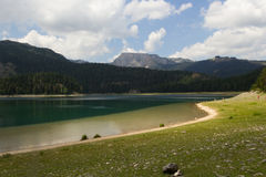 Crno Jezero (Black Lake), Durmitor Mountains Stock Images