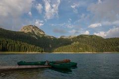 Crno jezero (Czarny jezioro) Zdjęcia Stock