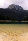 Crno Jezero (den svarta sjön), Durmitor nationalpark, Montenegro 02 arkivbild