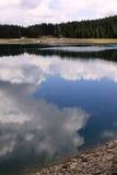Crno Jezero (den svarta sjön), Durmitor nationalpark, Montenegro 05 arkivbilder