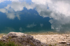 Crno Jezero (den svarta sjön), Durmitor nationalpark, Montenegro 07 royaltyfri fotografi