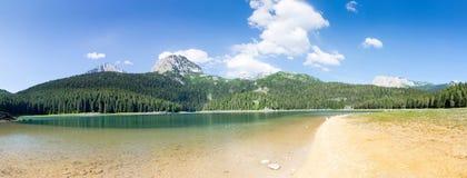 Crno Jezero, Montenegro. View of Crno Jezero lake, Montenegro. Beautiful summer day Royalty Free Stock Image