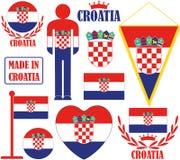 Croácia Imagens de Stock