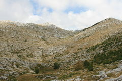 Croácia/beleza das montanhas Imagem de Stock Royalty Free