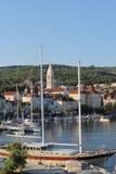 Croácia, curso a Brac, ano 2013 Imagens de Stock Royalty Free