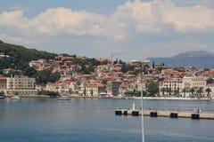 Croácia, curso a Brac, ano 2013 Fotografia de Stock