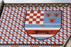 Croácia da brasão Imagem de Stock Royalty Free