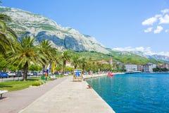 Croácia de Makarska Imagem de Stock Royalty Free