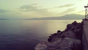 Croácia de Rijeka fotografia de stock