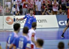 Croácia 2016 do Polônia do EURO do EHF Imagens de Stock Royalty Free