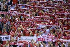 Croácia 2016 do Polônia do EURO do EHF Imagem de Stock Royalty Free