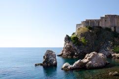Croácia-dubrovnik Fotos de Stock Royalty Free
