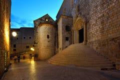 Croácia, Dubrovnik, arredores da porta de Ploce Fotografia de Stock Royalty Free