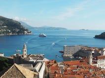 Croácia Europa de Dubrovnik Fotografia de Stock Royalty Free