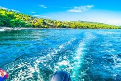 Croácia nas horas de verão Fotos de Stock