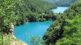 Croácia, parque nacional dos lagos Plitvice (2011) [2] Imagem de Stock Royalty Free