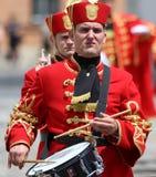 Croácia/protetor de honra Battalion/baterista Imagens de Stock
