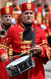 Croácia/protetor de honra Battalion/baterista Fotografia de Stock