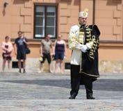 Croácia/protetor de honra Battalion/oficial Fotos de Stock Royalty Free