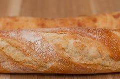 Croûte d'or de pain et de ciabatta français Photographie stock libre de droits