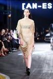 Cro en Porter Fashion Show: An-Estetik Zagreb, Kroatien arkivfoton