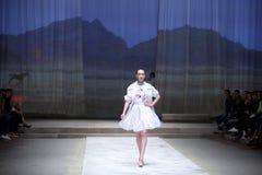 Cro furtianu pokaz mody: BLIŹNIACY Begovic ja Stimac, Zagreb, C Obraz Royalty Free
