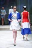 Cro furtianu pokaz mody: BLIŹNIACY Begovic ja Stimac, Zagreb, C Fotografia Stock