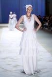 Cro furtianu pokaz mody: Tradycja ludowa, Zagreb, Chorwacja Zdjęcia Royalty Free