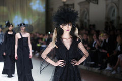 Cro a Porter Fashion Show : Etna Maar, Zagreb, Croatia Royalty Free Stock Photography