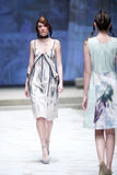 Cro a Porter Fashion Show : Jelena Holec, Zagreb, Croatia Royalty Free Stock Photo