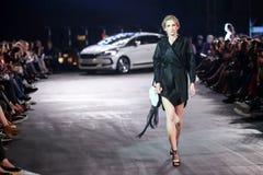Cro a Porter Fashion Show : Manuela Lovrencic, Zagreb, Croatia Stock Photography