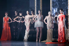 Cro a Porter Fashion Show : Matija Vuica, Zagreb, Croatia Royalty Free Stock Photography