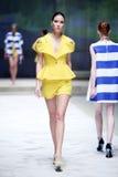 Cro a Porter Fashion Show : TWINS by Begovic i Stimac, Zagreb, C Royalty Free Stock Photos