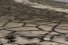 Croûte de boue photo stock