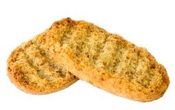 Croûtes sèches Photo stock