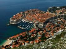 Croacia dubrovnik Vista de la ciudad Fotos de archivo
