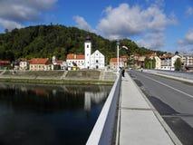 Croacia, Hrvatska Kostajnica, 3 Fotos de archivo