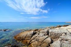 Croacia - mar adriático Imagen de archivo