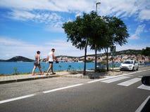 Croacia, tisno foto de archivo