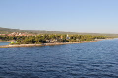 Croacia, viaje a Brac, año 2013 Imagen de archivo
