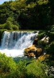 Croacia Watefall foto de archivo libre de regalías