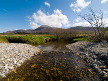 Croagh Patrick. View from seaside Royalty Free Stock Images