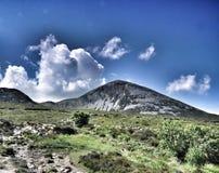 Croagh Patrick, comté Mayo photographie stock libre de droits