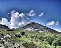 Croagh Patrick, County Mayo Royalty Free Stock Photography